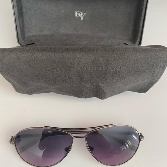 Authentic David Yurman Aviator sunglasses